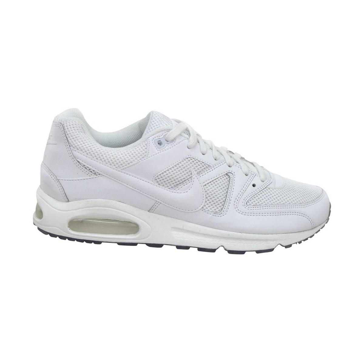 03b80d2c6f35b Nike Air Max Command Men s Running Trainers In White in White for ...