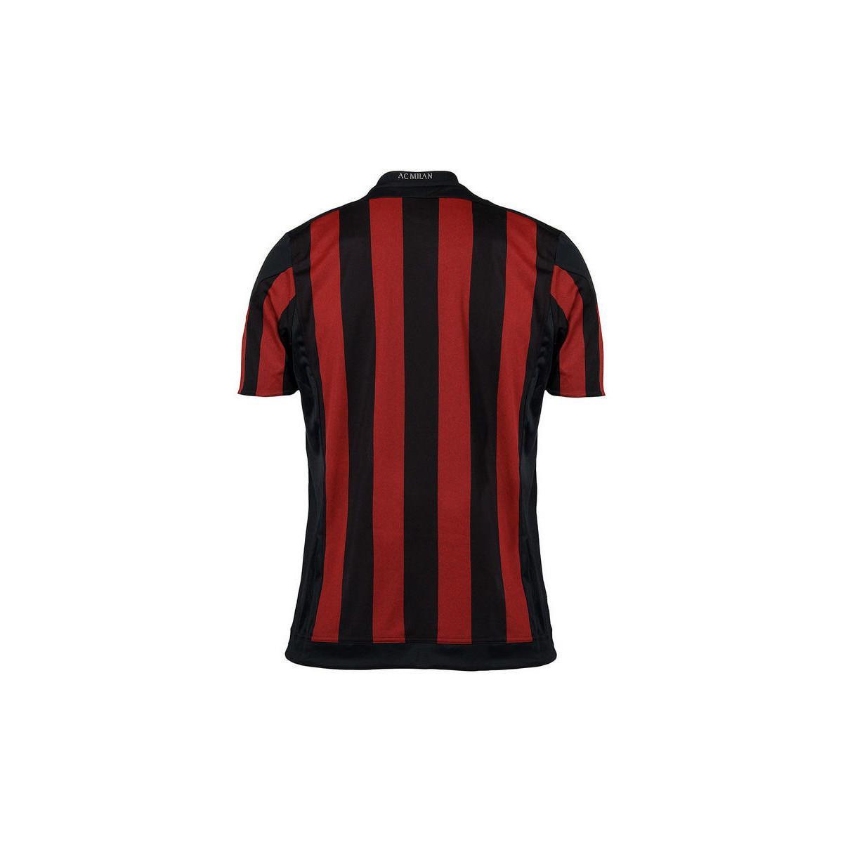 adidas 2015-16 Ac Milan Home Shirt (van Basten 9) - Kids Men's T Shirt In Red for Men