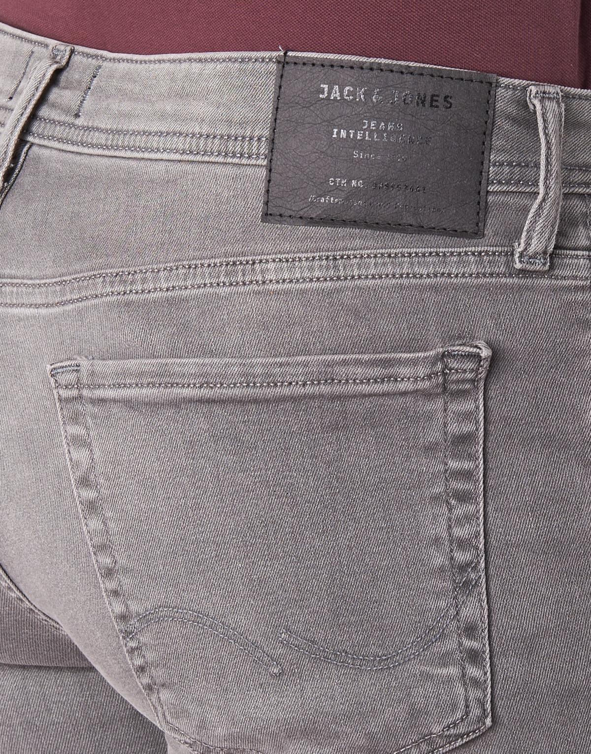 Jack & Jones Denim Jack Jones Slim Fit Jeans LIAM in Grau für Herren Rc9QA