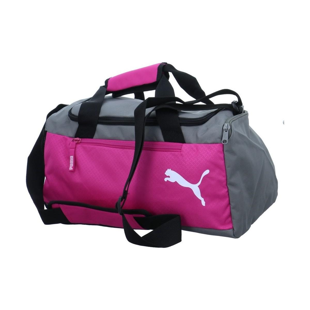 ddfe04bb32 PUMA Fundamentals Sports Bag Women s Sports Bag In Grey in Gray for ...