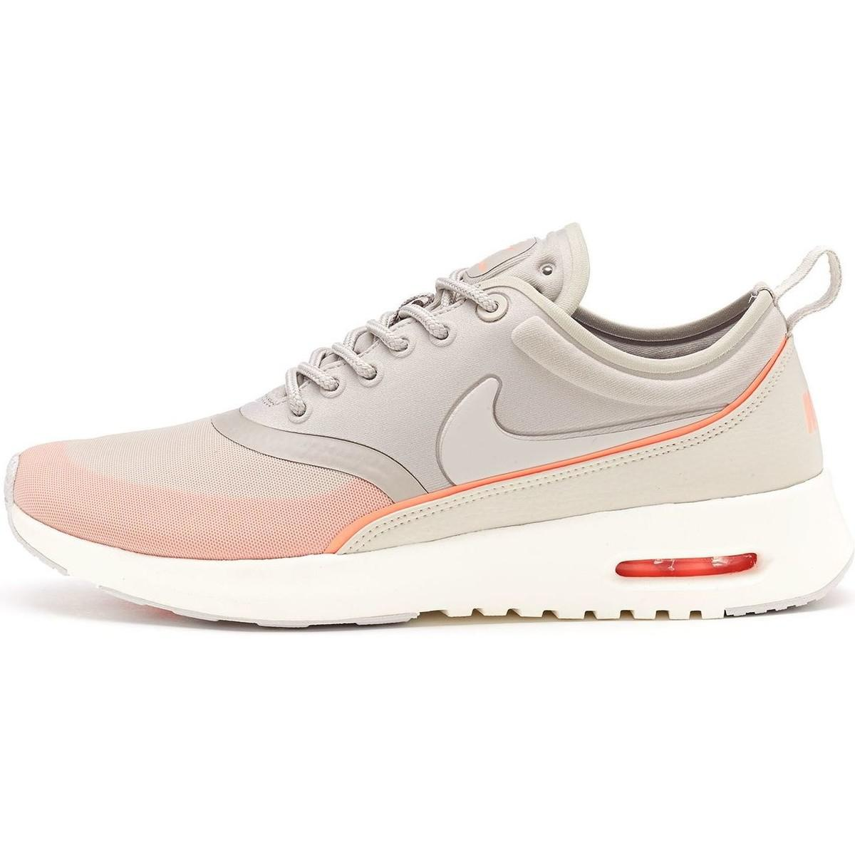 half price low price top quality Air Max Thea Ultra Women Trainers In Light Grey Atomic Pink 8 Women's Shoes  (trainers) In Pink
