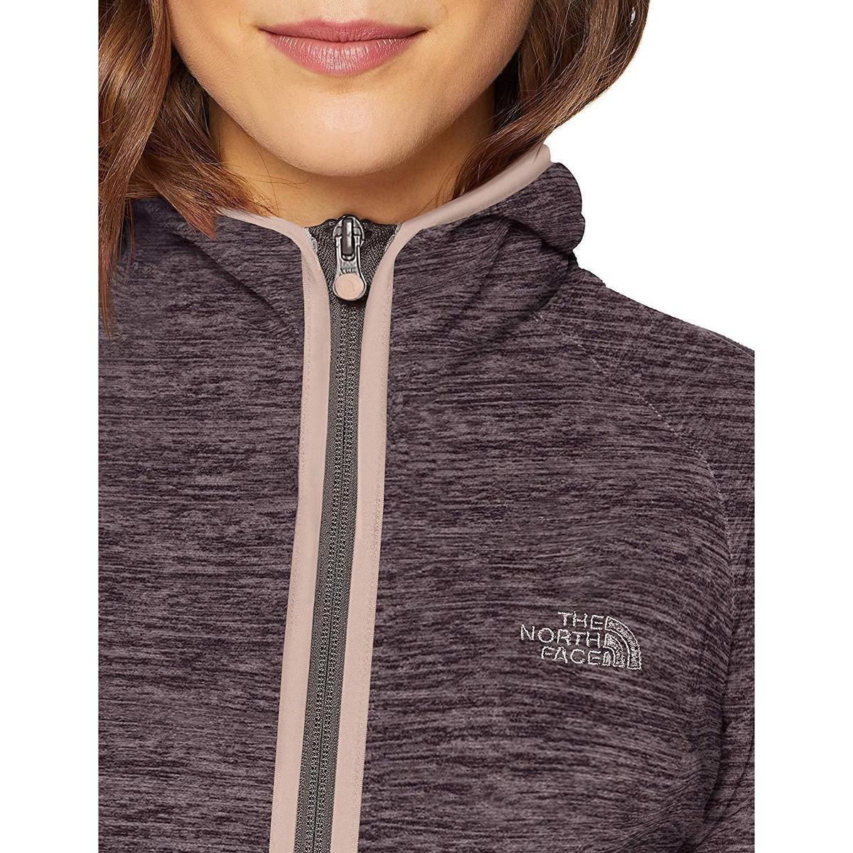 4c7ae6dc The North Face Gray W Nikster Full Zip H Sudaderas 6klhsr Women's Fleece  Jacket In Grey