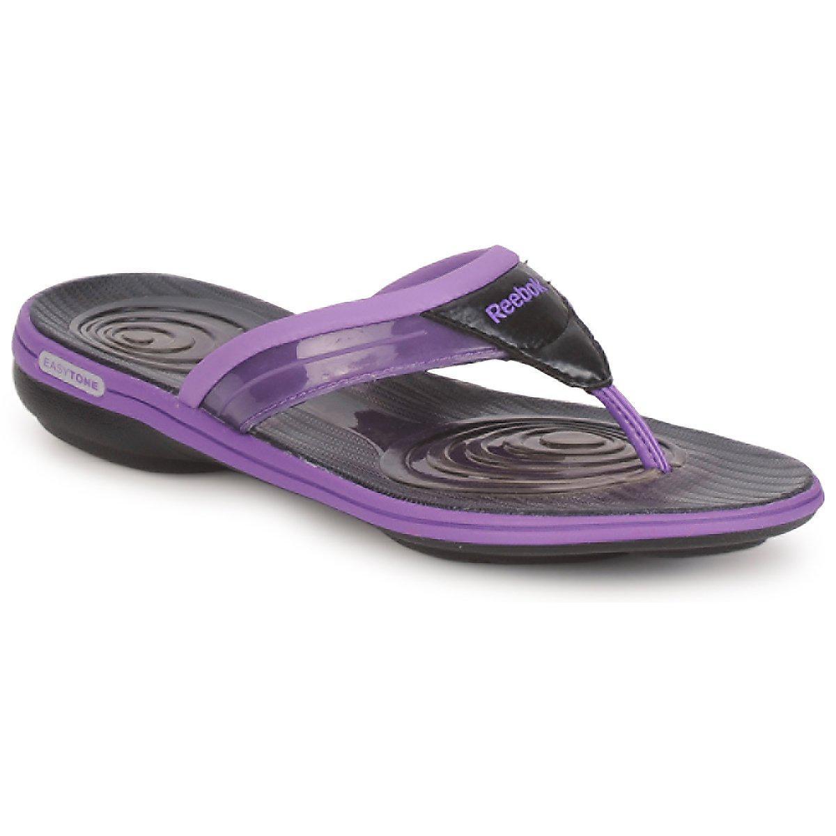 fd845fb5dfb Reebok Easytone Plus Flip Flip Flops   Sandals (shoes) in Purple - Lyst