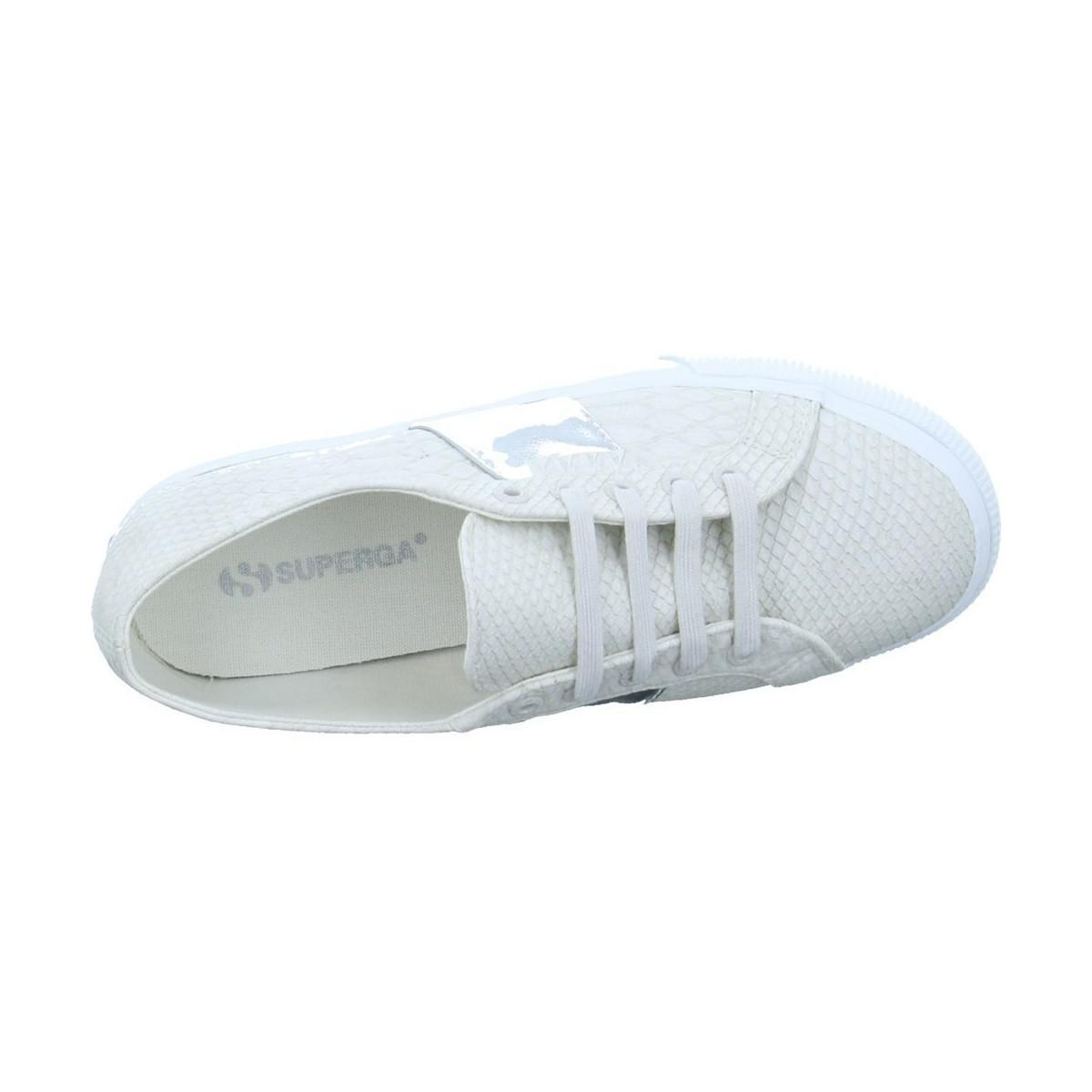 Superga 2790 Pusnakew Women's Shoes (trainers) In White