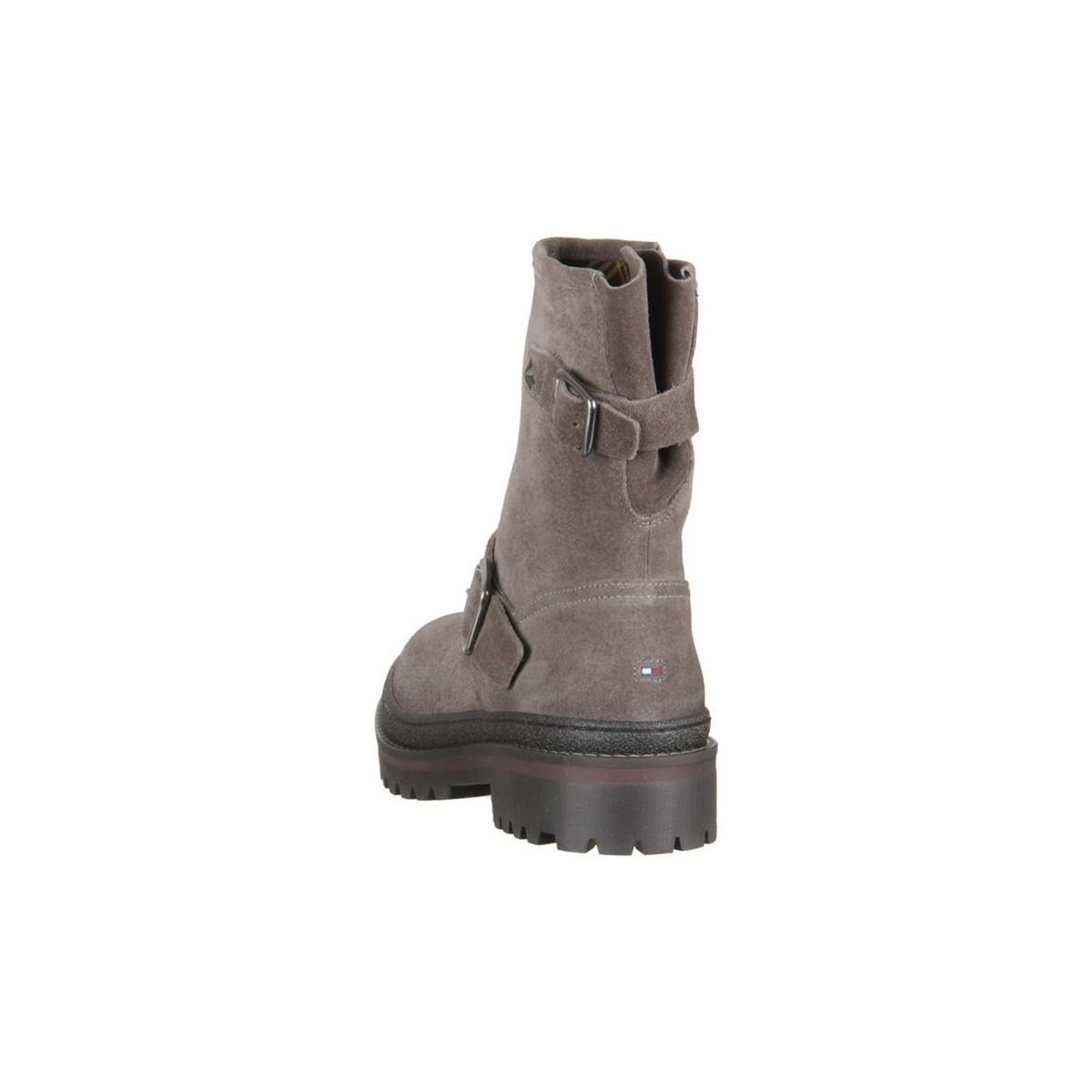 e0b2e03c125f2e ... Tommy Hilfiger - Brown Fw0fw03308039 Women s Low Ankle Boots In  Multicolour - Lyst.