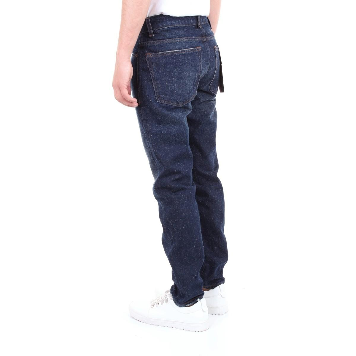 Michael Coal Denim Straight Jeans Mark1091c in het Blauw voor heren