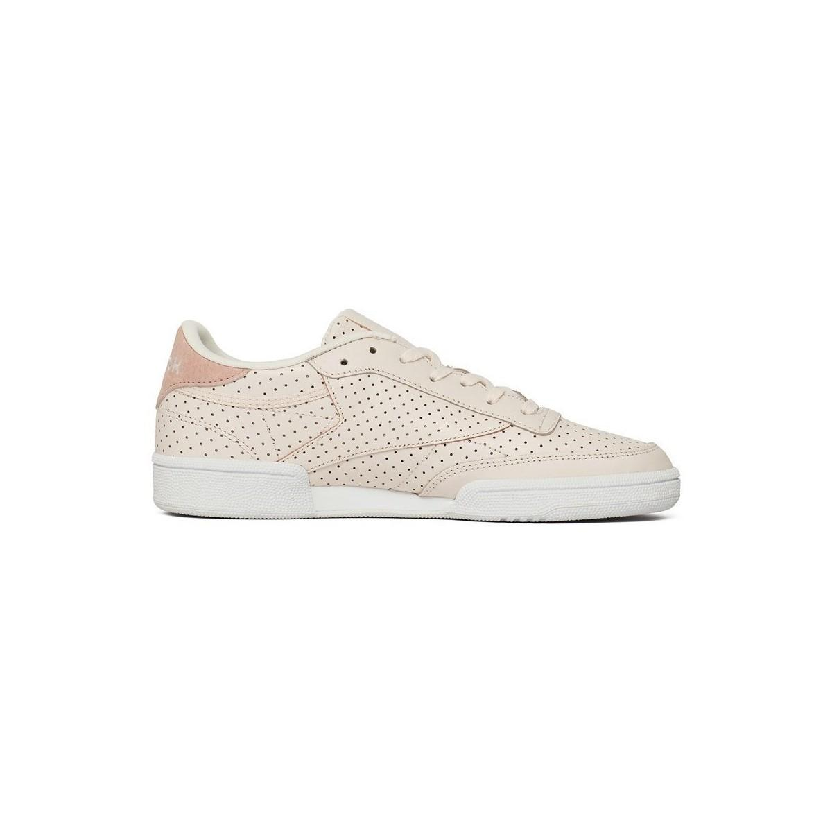 Reebok Club C Popped Perf Women's Shoes (trainers) In Multicolour in White