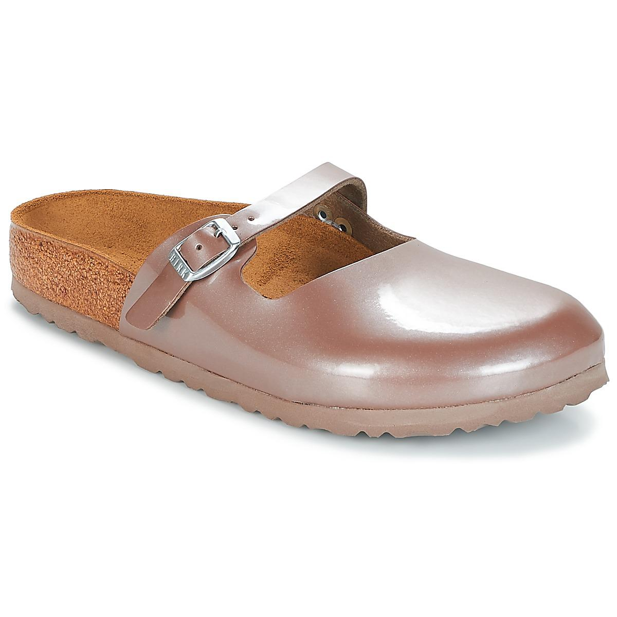 Birkenstock Maria Women s Mules   Casual Shoes In Pink in Pink ... c6b515f90a4