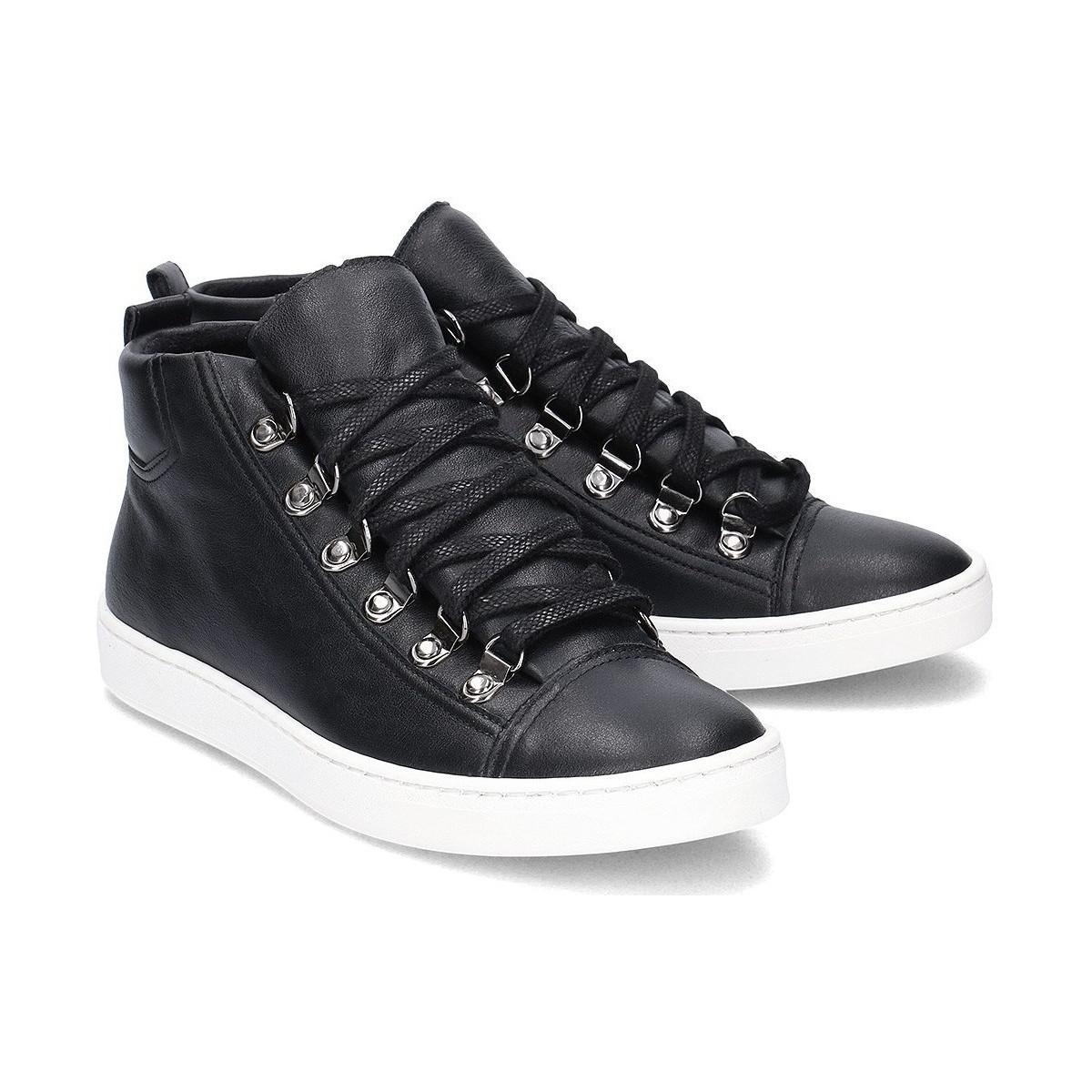 Gino Rossi Mariko Women's Shoes (high-top Trainers) In Black