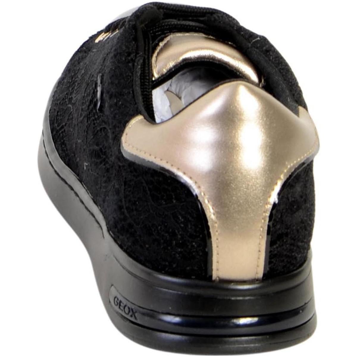 Geox Sneakers D Jaysen Has D621ba 0dshh C9999 Black Women's Shoes (trainers) In Black