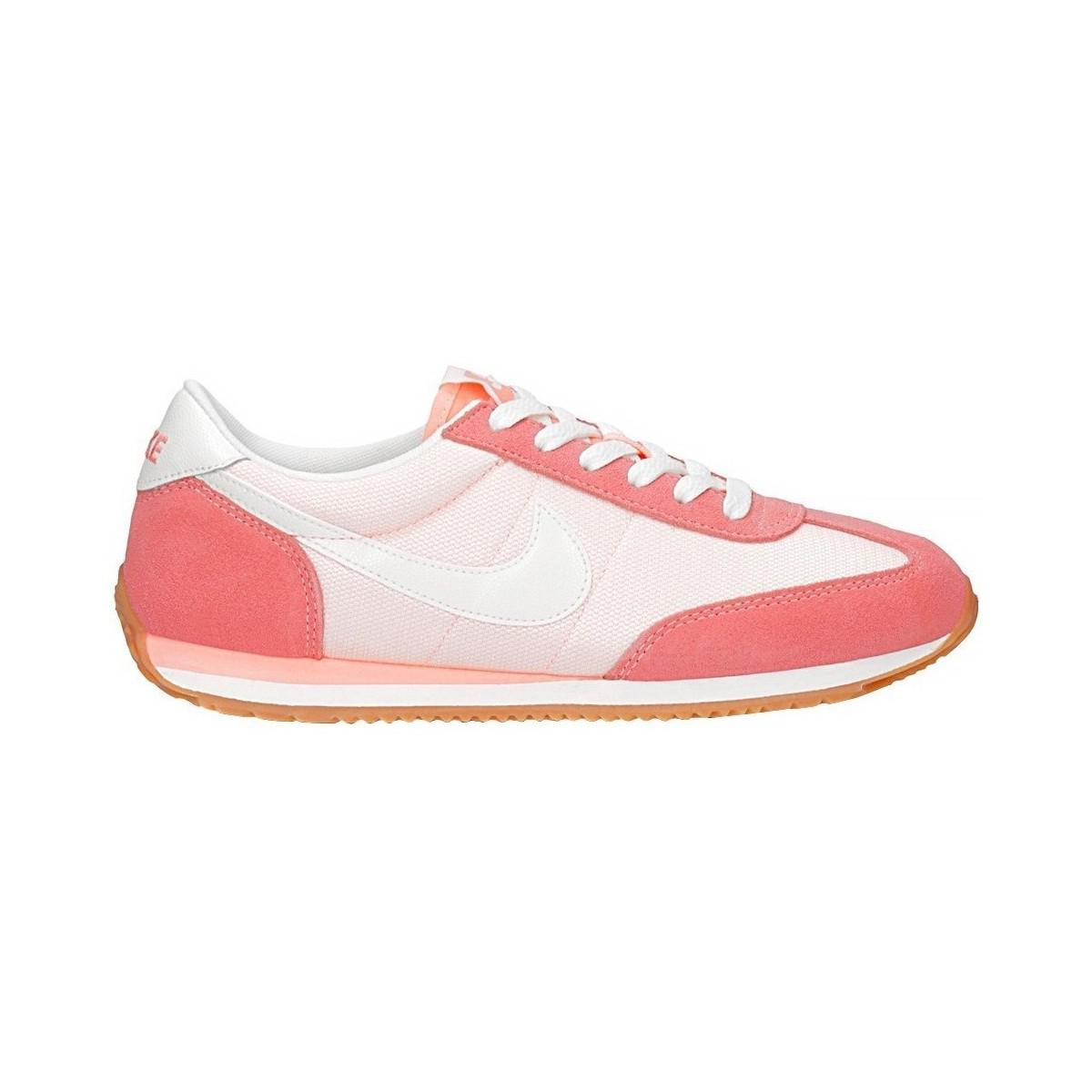 c4f2d61b66f5 Nike Oceania Textile Women s Shoes (trainers) In White in White - Lyst