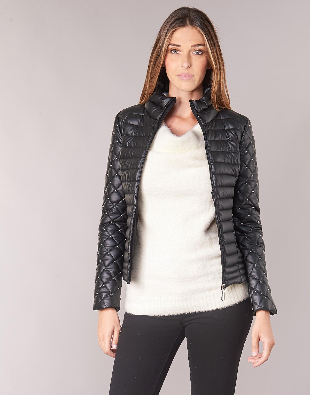 3ca764264d9d Guess Michelle Jacket in Black - Lyst