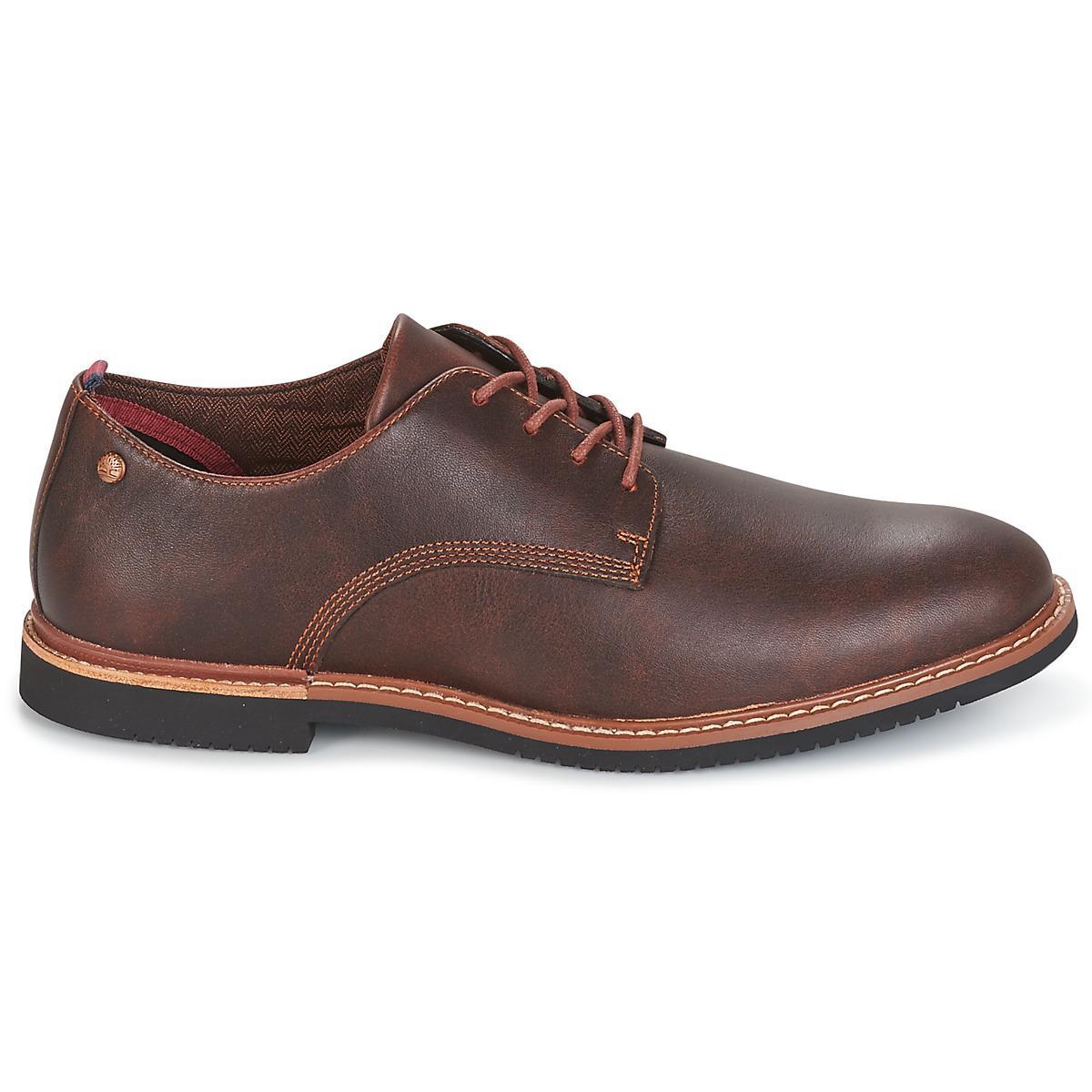 Park Homme Marron Chaussures Oxford En Timberland Brook Hommes Pour l1JcFKT3