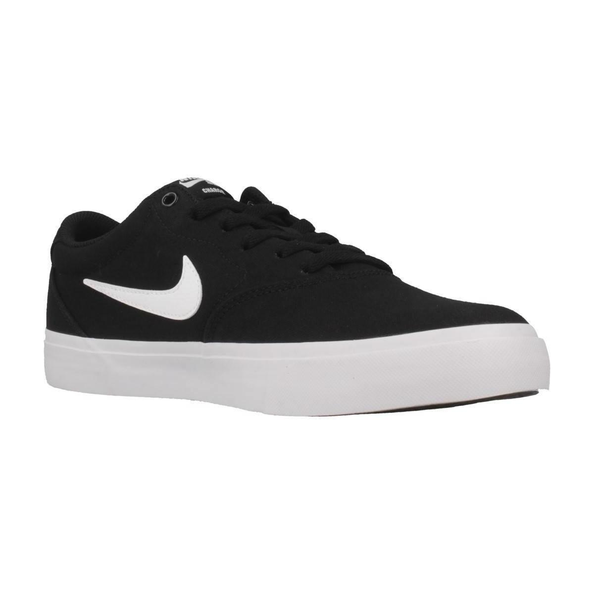 Nike Lage Sneakers Sb Charge Slr Su19 in het Zwart voor heren