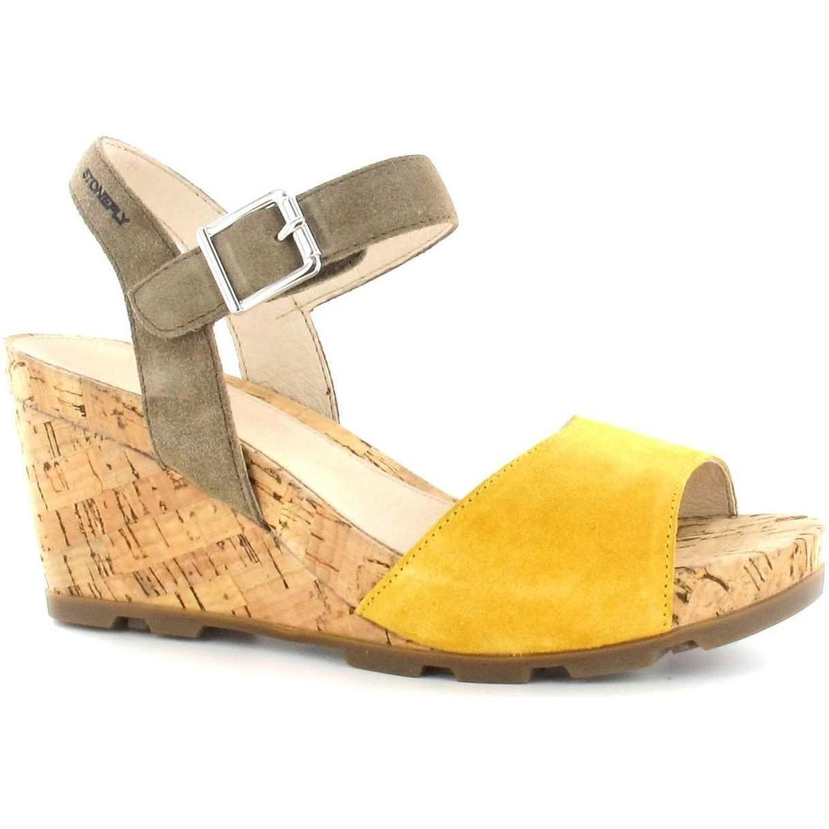 80216cab5ec233 Gallery. Previously sold at  Spartoo · Women s Yellow Shoes Women s Hidden  Wedges ...