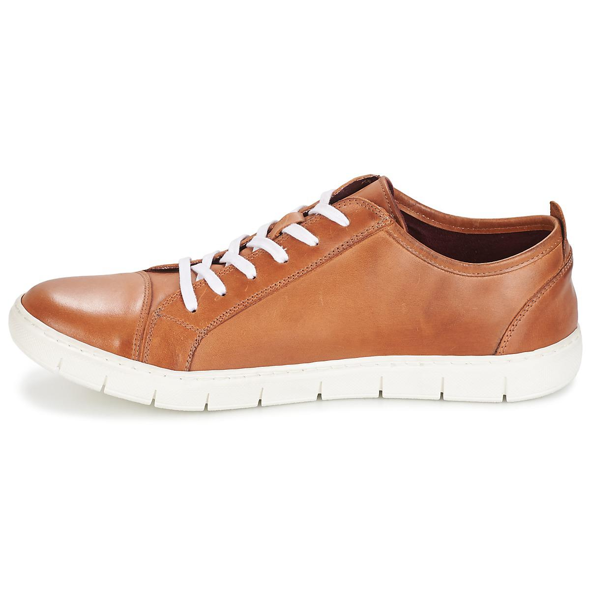 Casual Attitude Leather Tacheto Men's Shoes (trainers) In Brown for Men