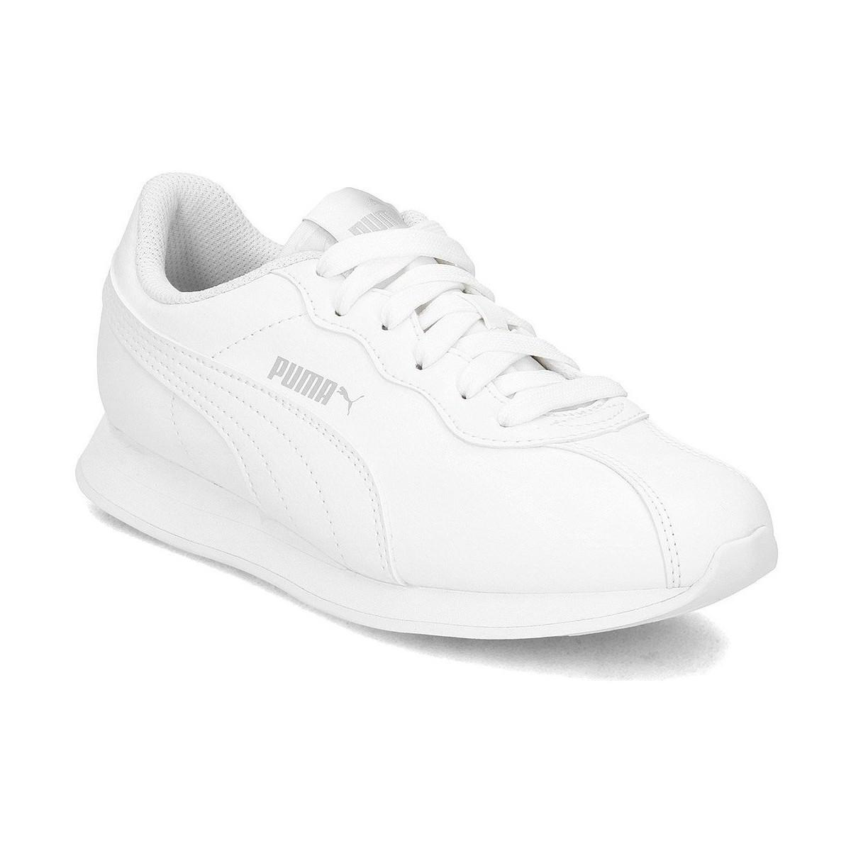 1a19973bc1fd Puma Turin Ii Women s Shoes (trainers) In White in White - Lyst