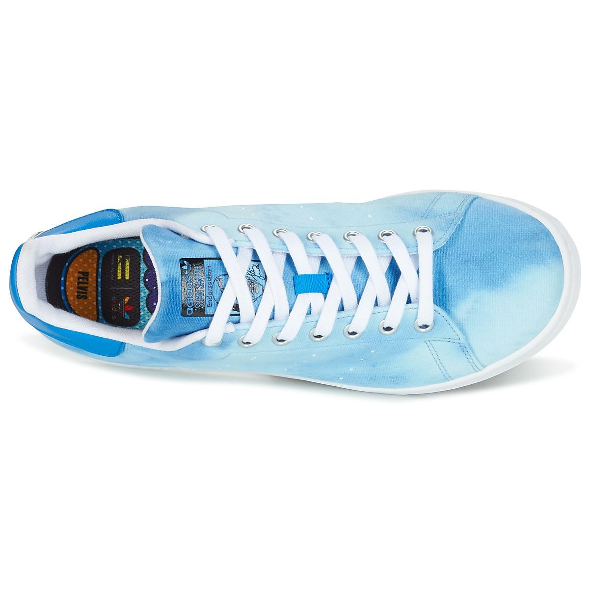STAN SMITH PHARRELL WILLIAMS Chaussures adidas en coloris Bleu
