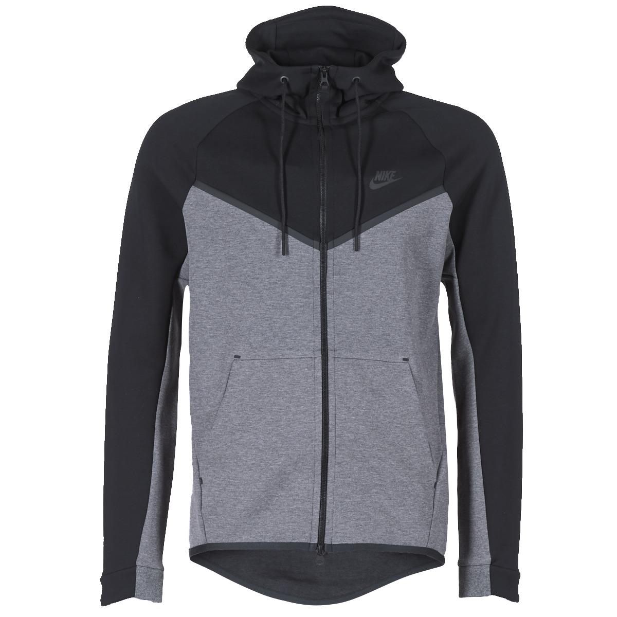 7d23ec5da2 Nike Tech Fleece Windrunner Hoodie Men s Jacket In Grey in Gray for ...