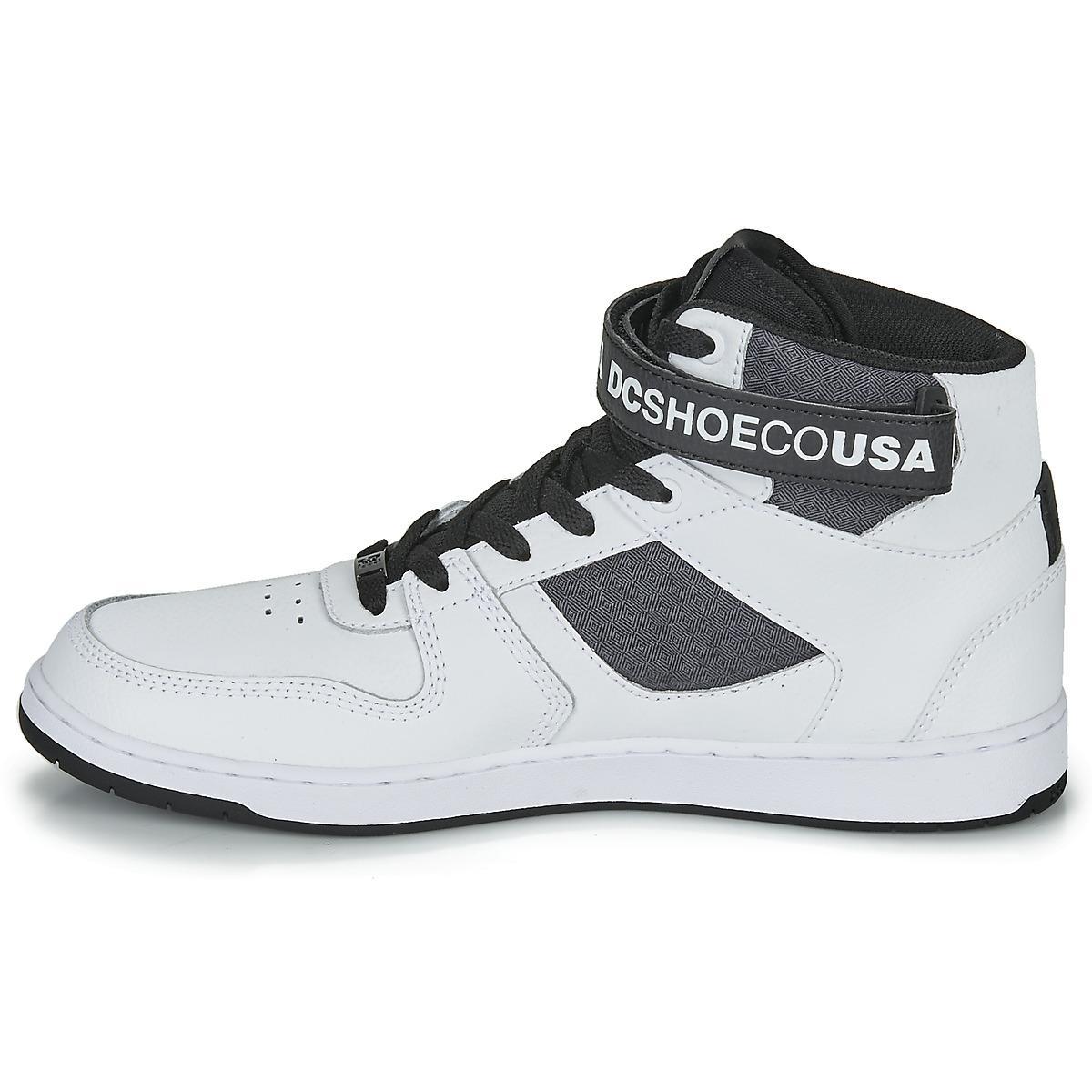 DC Shoes Hoge Sneakers Pensford Se in het Wit voor heren