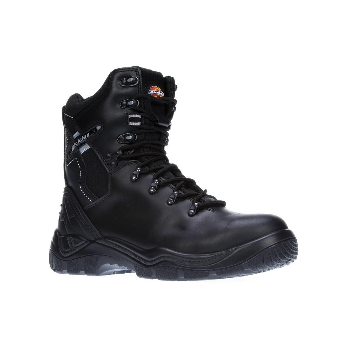 dd8cbeb66b7 Dickies Mens S1p Quebec Lace Up Leather Safety Boots Men's Safety ...