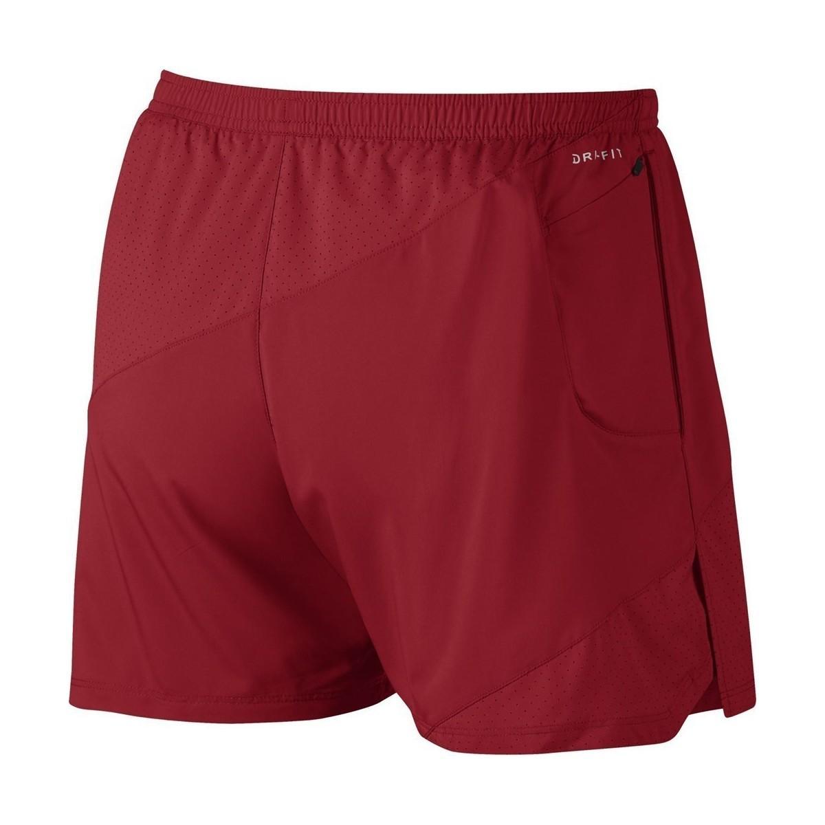 5ad032e73eeee Nike Flex 834188 602 Men s Shorts In Multicolour in Red for Men - Lyst