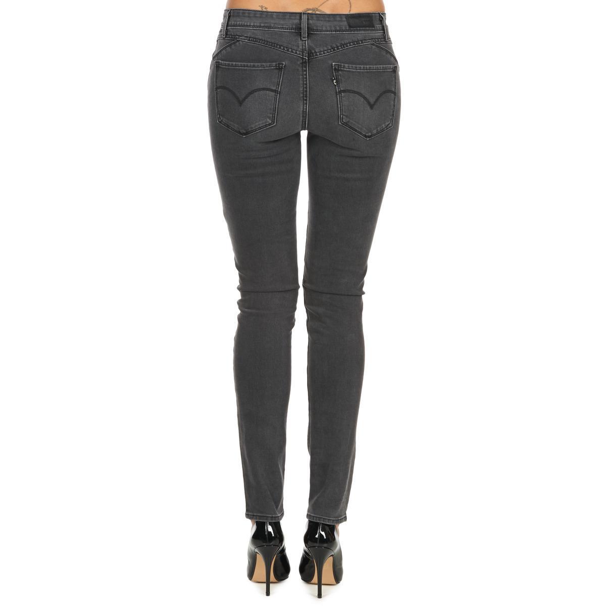 Levi's Denim Levis Revel Dc Skinny Women's Skinny Jeans In Grey in Grey