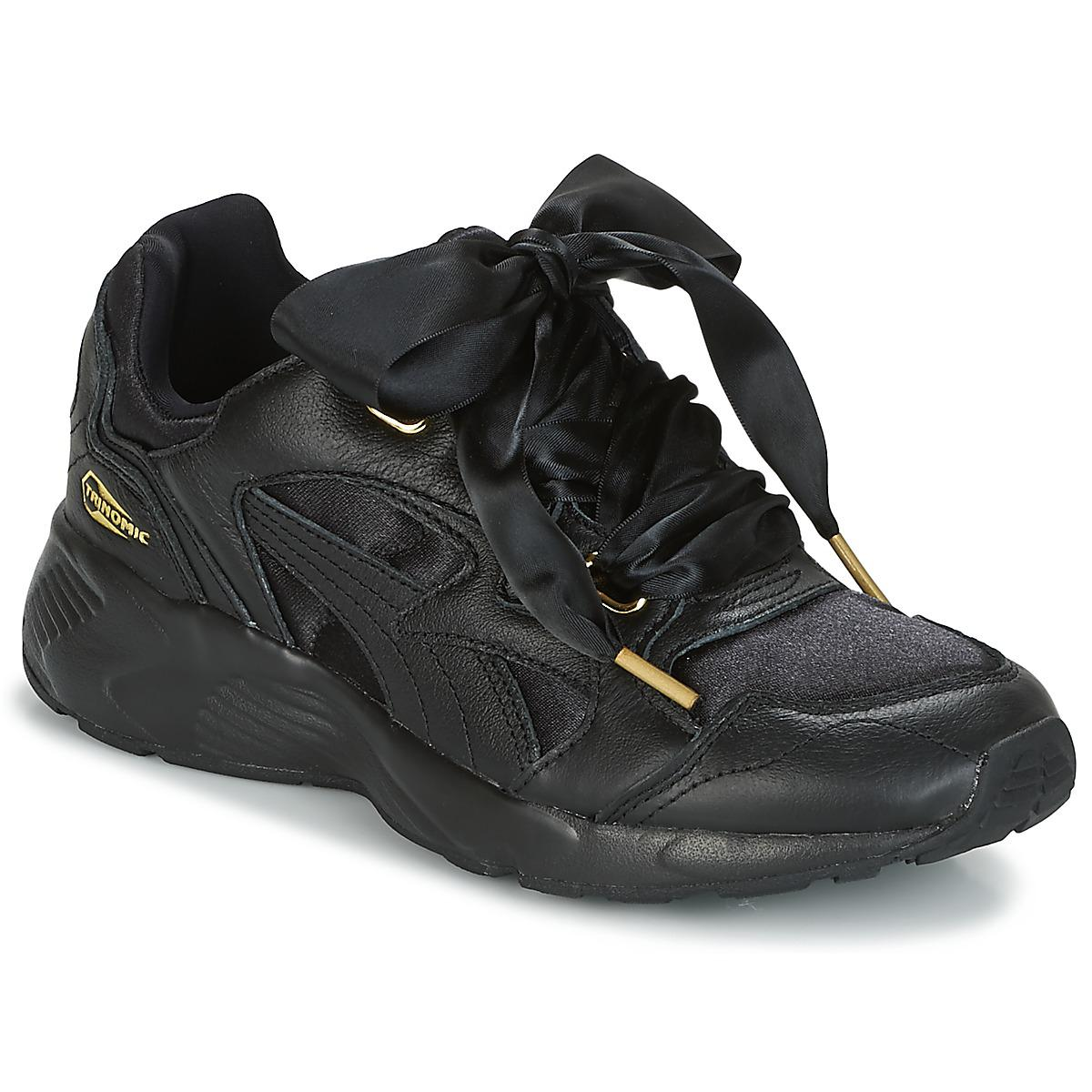 PUMA Prevail Heart Satin Shoes (trainers) in Black - Save 7% - Lyst e081fadc1