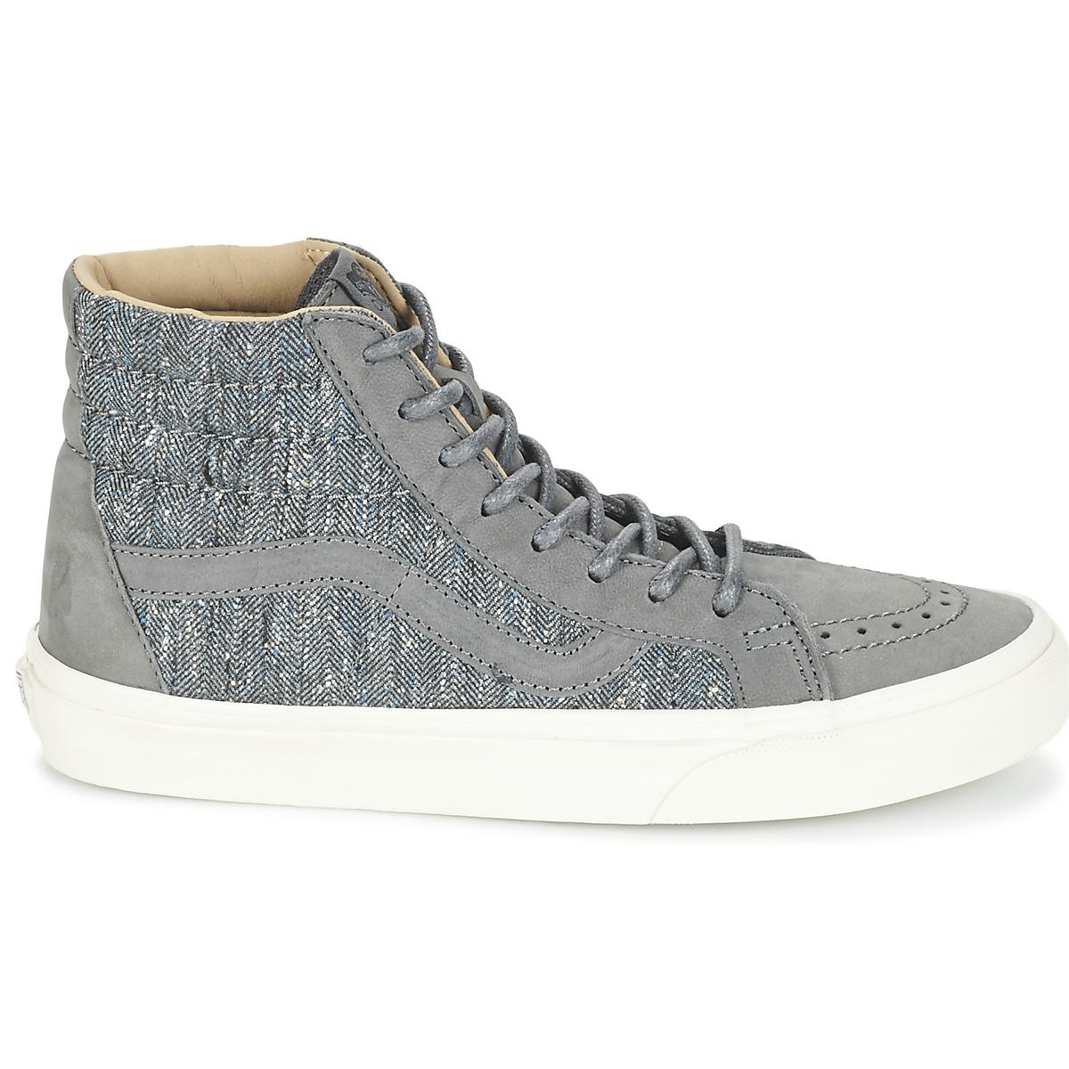 4d81f505afe3 Vans - Gray Sk8-hi Reissue Dx Women s Shoes (high-top Trainers). View  fullscreen