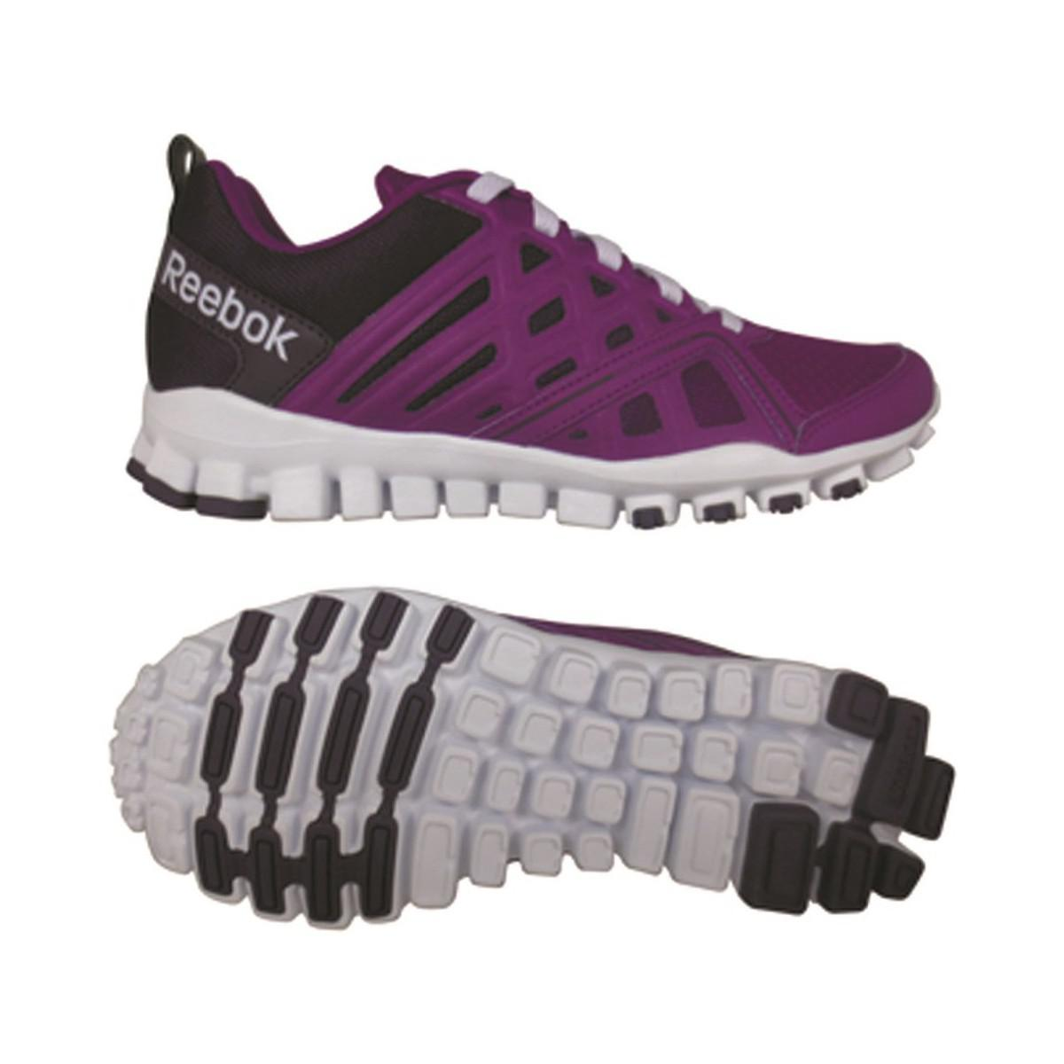 997c2bdbff8 ... hot reebok realflex train mens running trainers in purple in purple for  f5c43 359a7