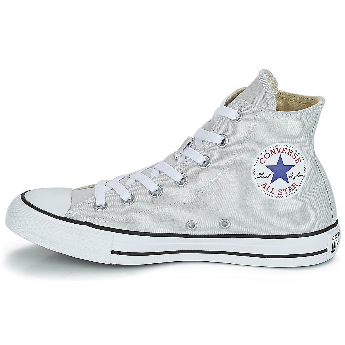 Converse Chuck Taylor All Star Hi Shoes (high-top Trainers) in Grey (Grey)