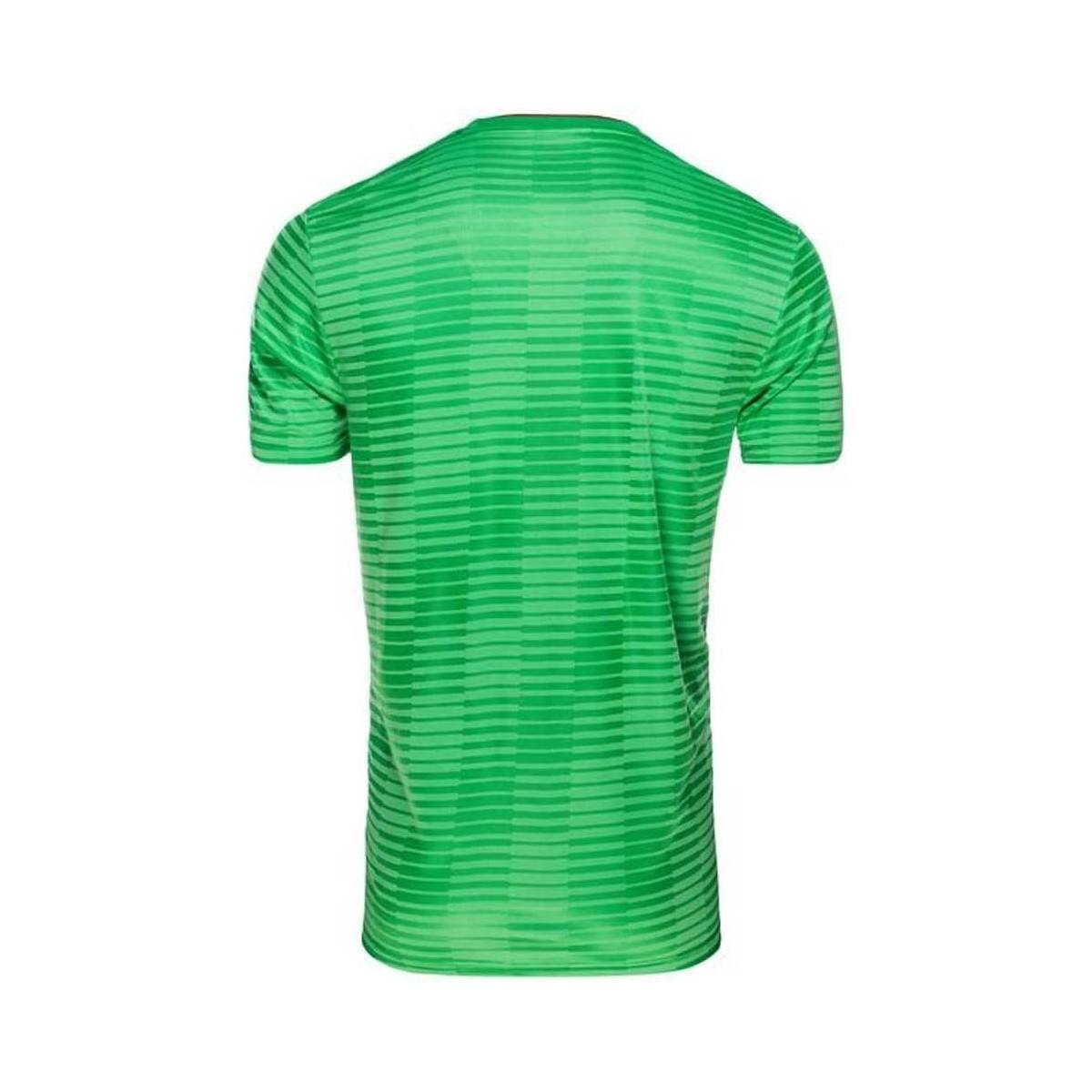 adidas 2018-2019 Algeria Away Football Shirt (kids) Men's T Shirt In Green for Men