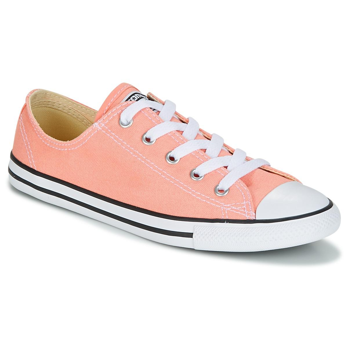 7c511e2d6afe2e Converse - Pink All Star Dainty Oxford Shoes Trainers - Lyst. View  fullscreen