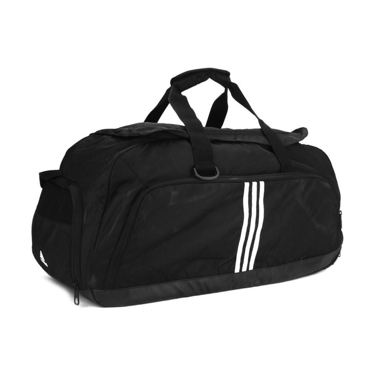 adidas 3 Stripes Performance Team Bag Medium Men s Bag In Black in ... a5ddba27a8d2a