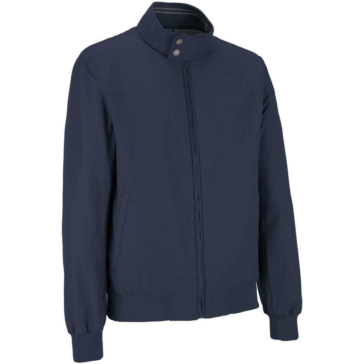 Geox M7220d T2270 Jacket Man Blue Men's Tracksuit Jacket In Blue for Men