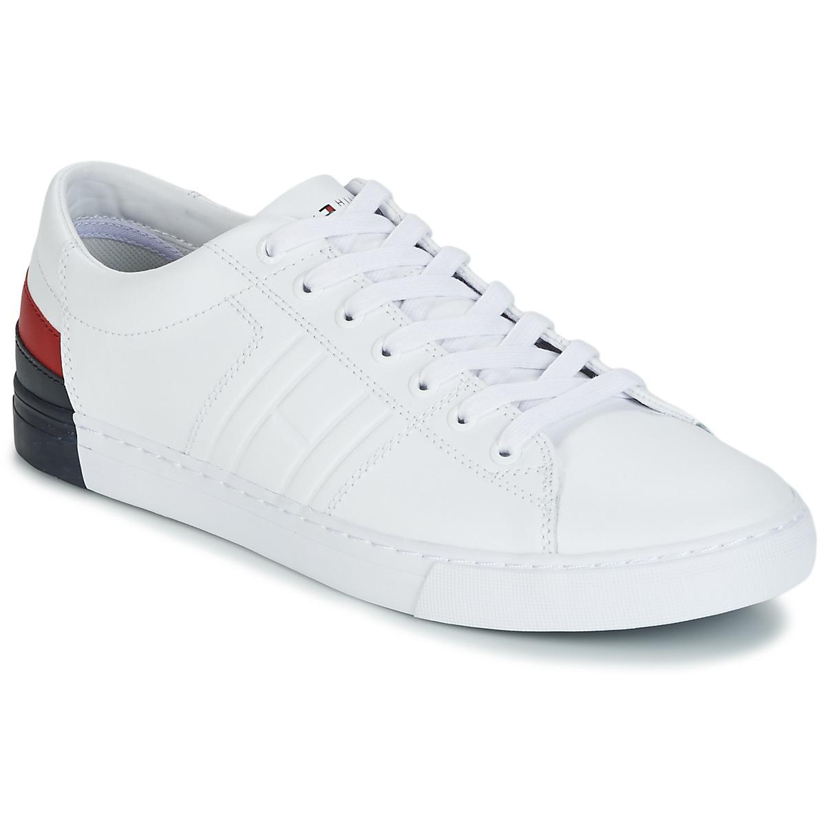nice cheap new york exquisite style Tommy Hilfiger Jay 9 Men's Shoes (trainers) In White for Men - Lyst