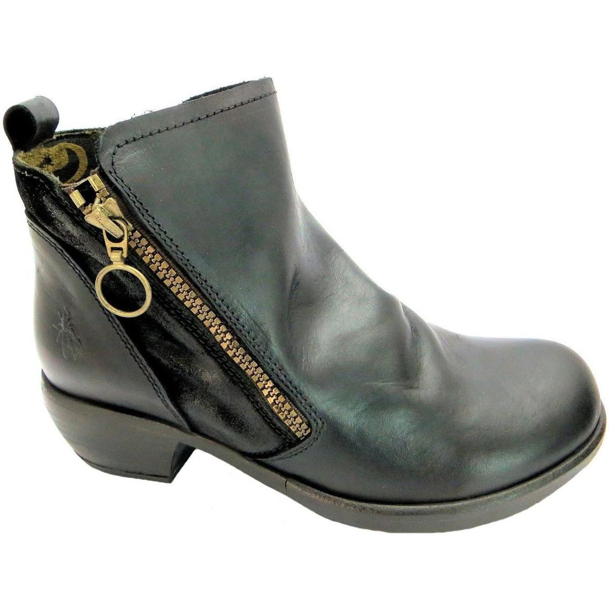 55ba81976362 Fly London Meli Women s Mid Boots In Black in Black - Lyst
