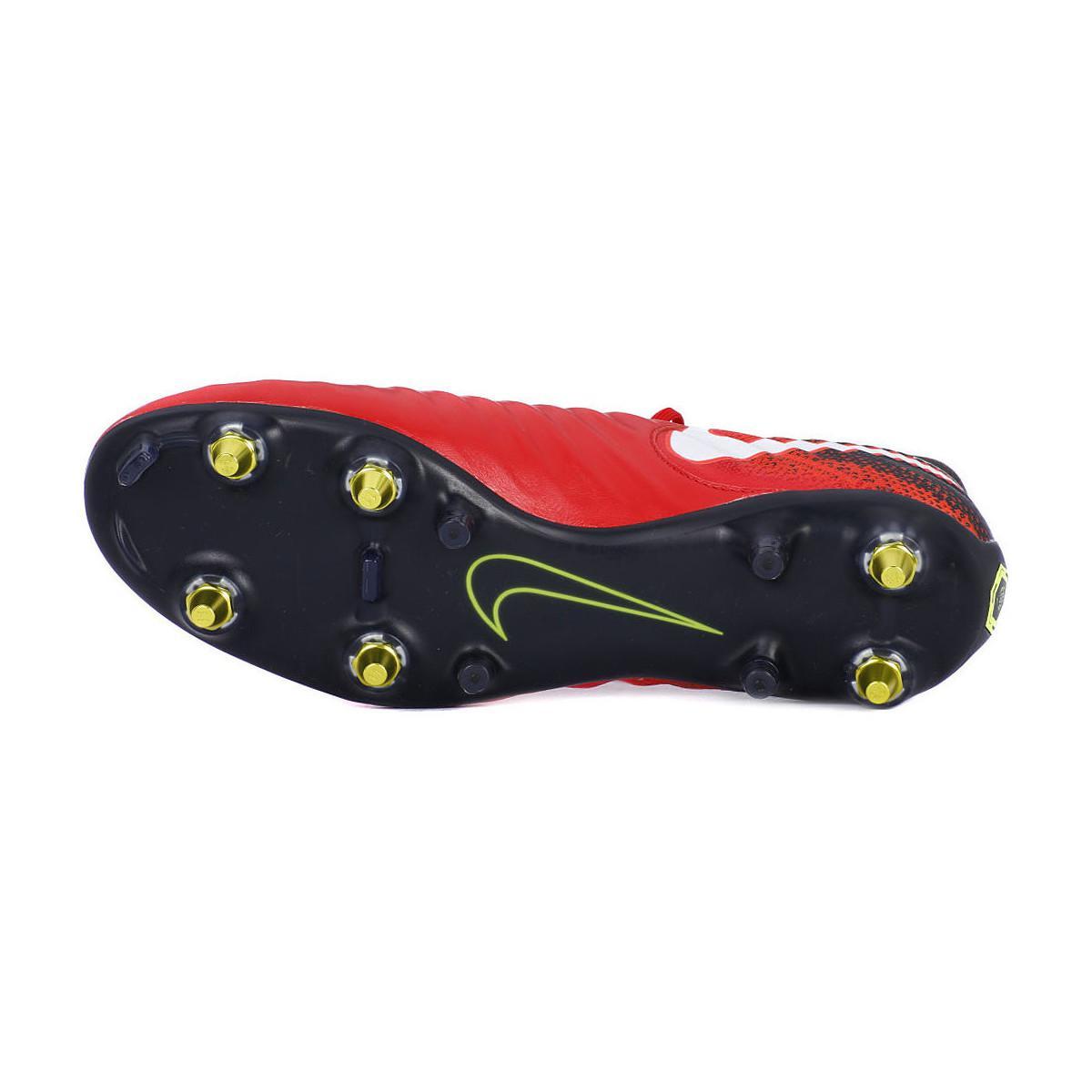 buy popular 5f398 f57e7 TIEMPO LEGEND VII SG PRO AC hommes Chaussures de foot en rouge Nike ...