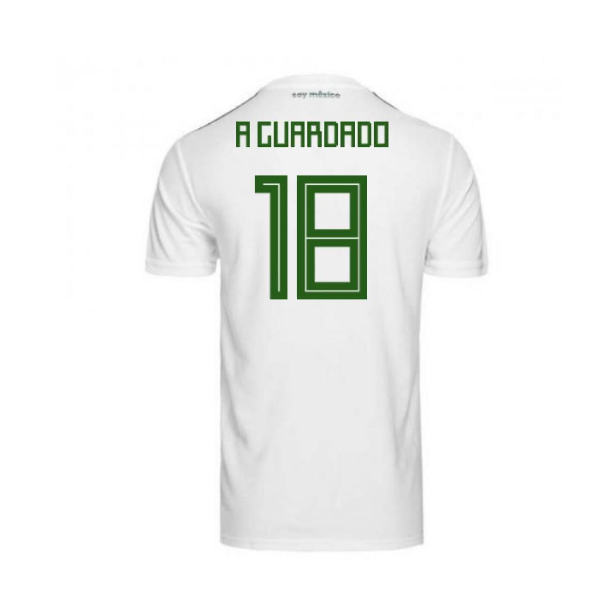 6e69dfd45e1 Adidas 2018-2019 Mexico Away Football Shirt (a Guardado 18) - Kids ...