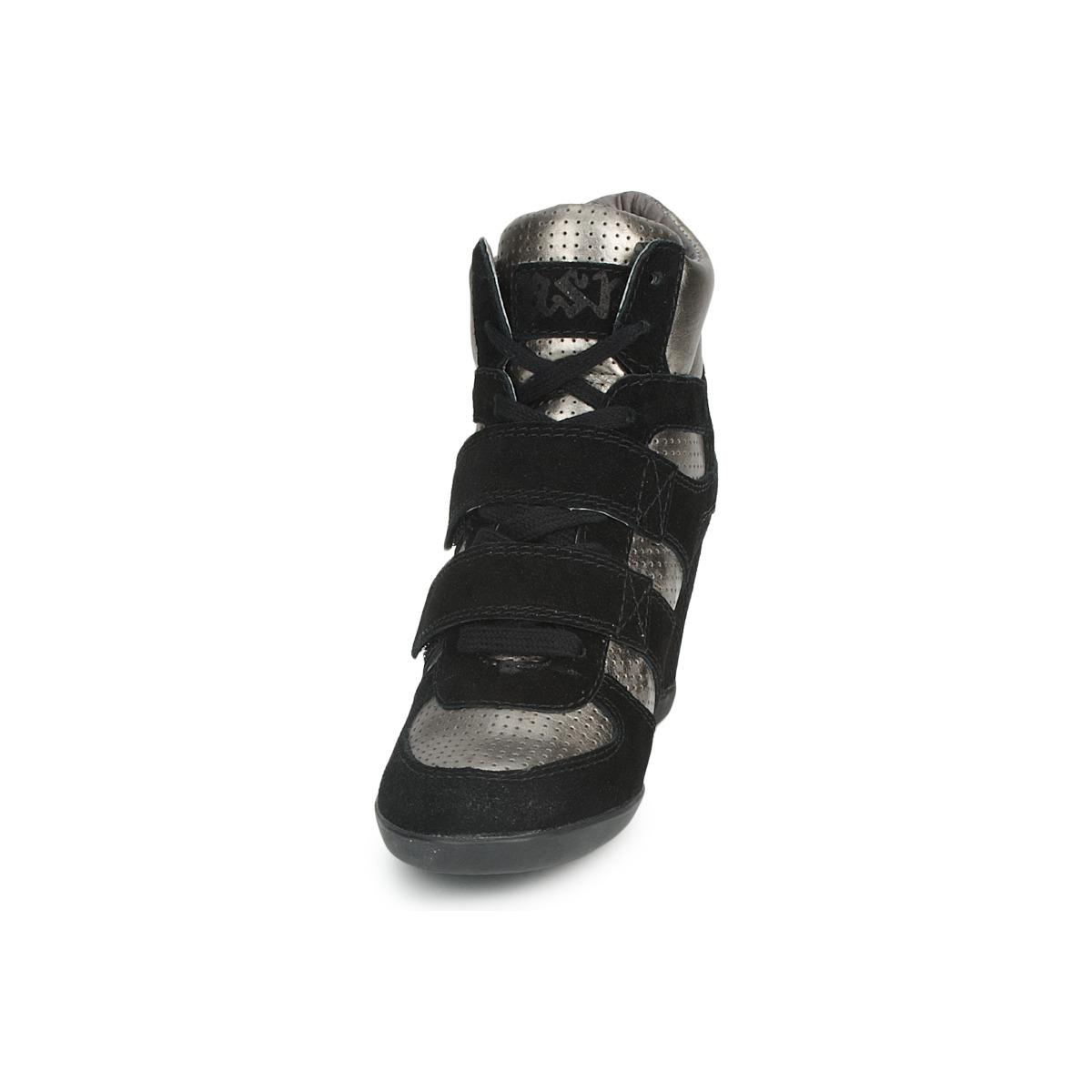 Ash Bea Women's Shoes (high-top Trainers) In Black