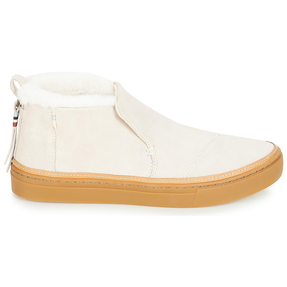 cb7512c9c9e TOMS Paxton Slip-ons (shoes) in Natural - Lyst