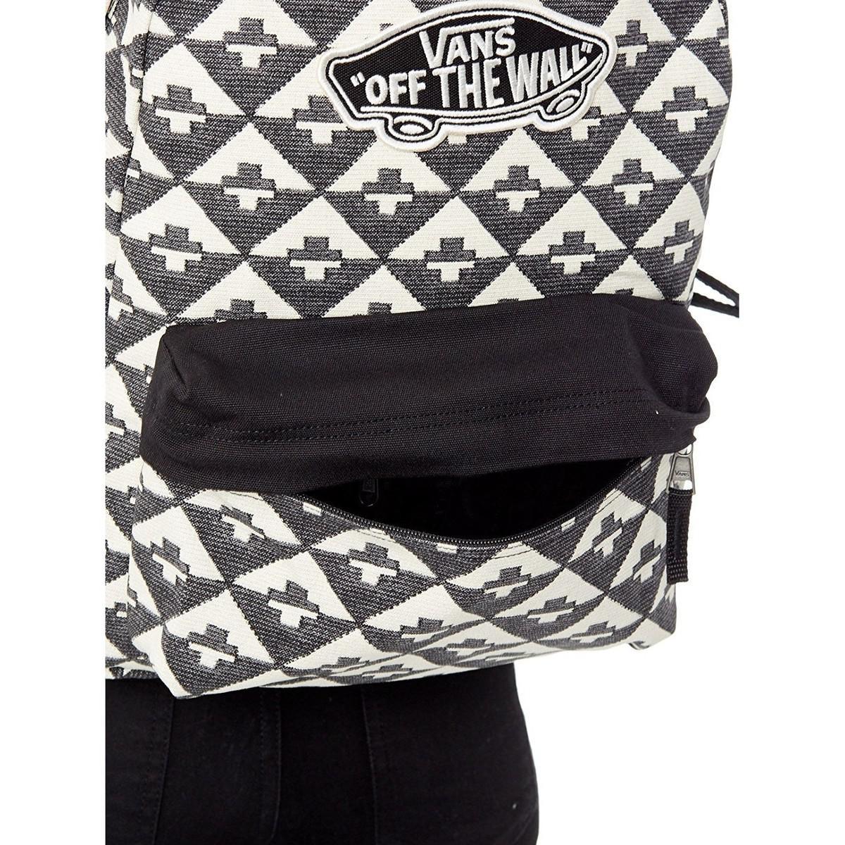 Vans Realm Backpack Surf Geo Men's Backpack In Black