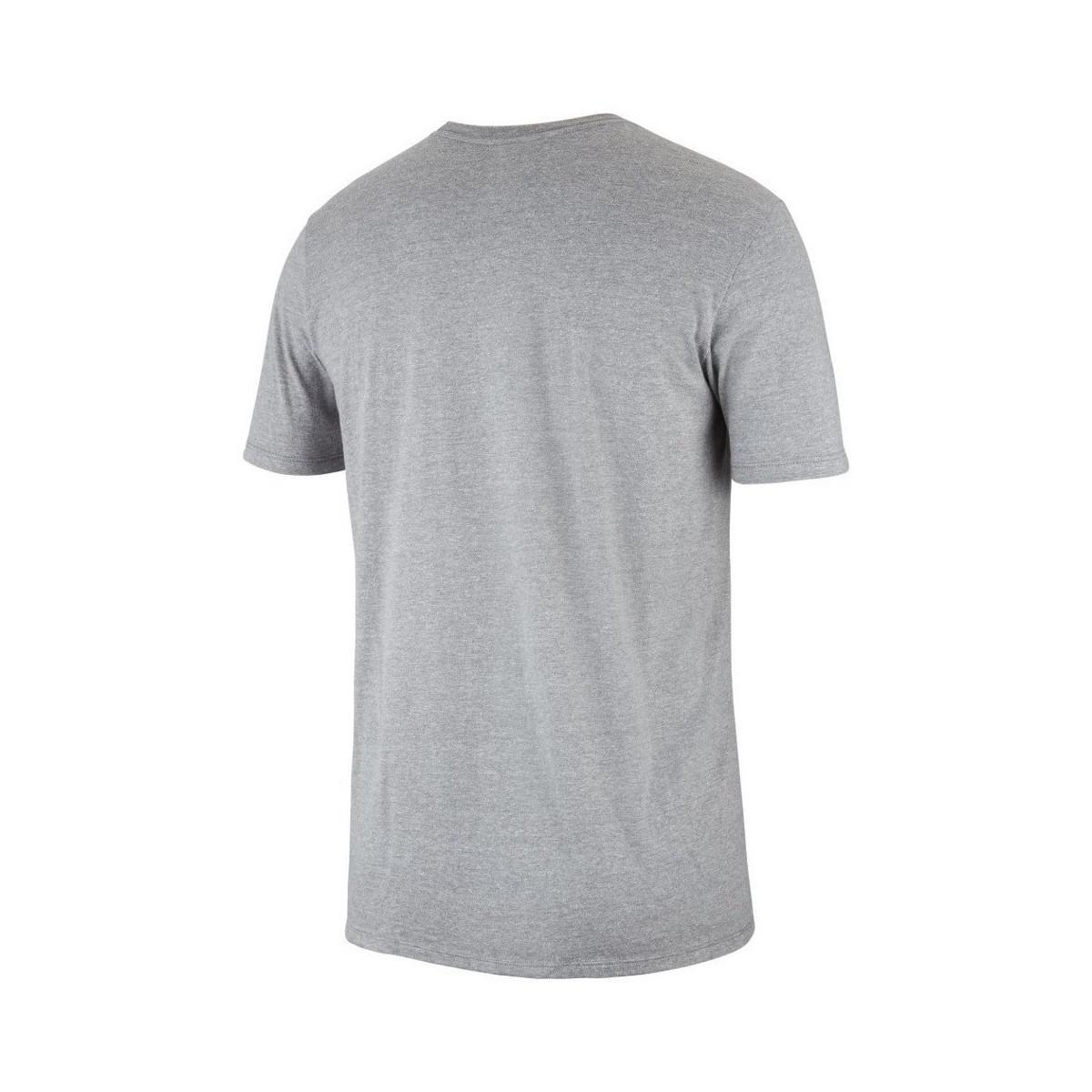 155e16a655c0 Nike Air Jordan Brand 5 Men s T Shirt In Grey in Gray for Men - Lyst