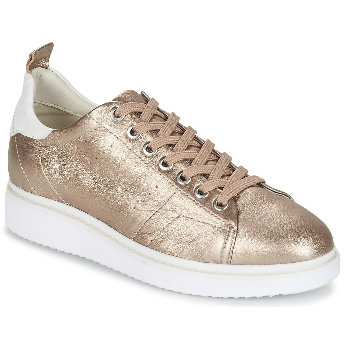 new product 149f7 89ac1 Metallic Thymar A Women's Shoes (trainers) In Gold