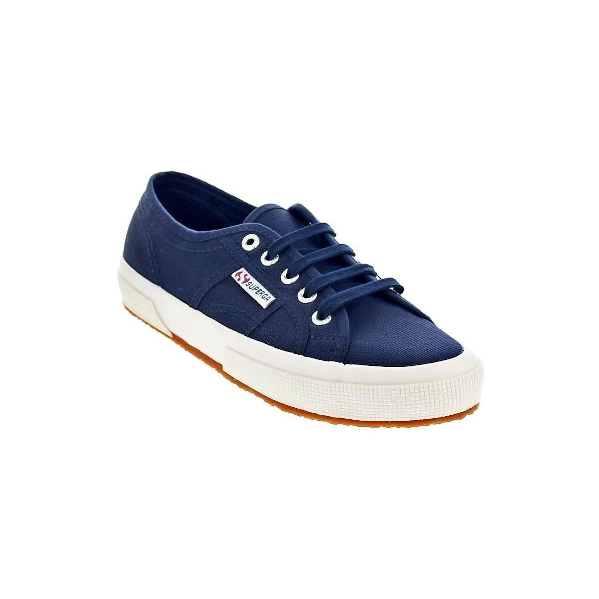 2750-COTU Chaussures Superga en coloris Bleu