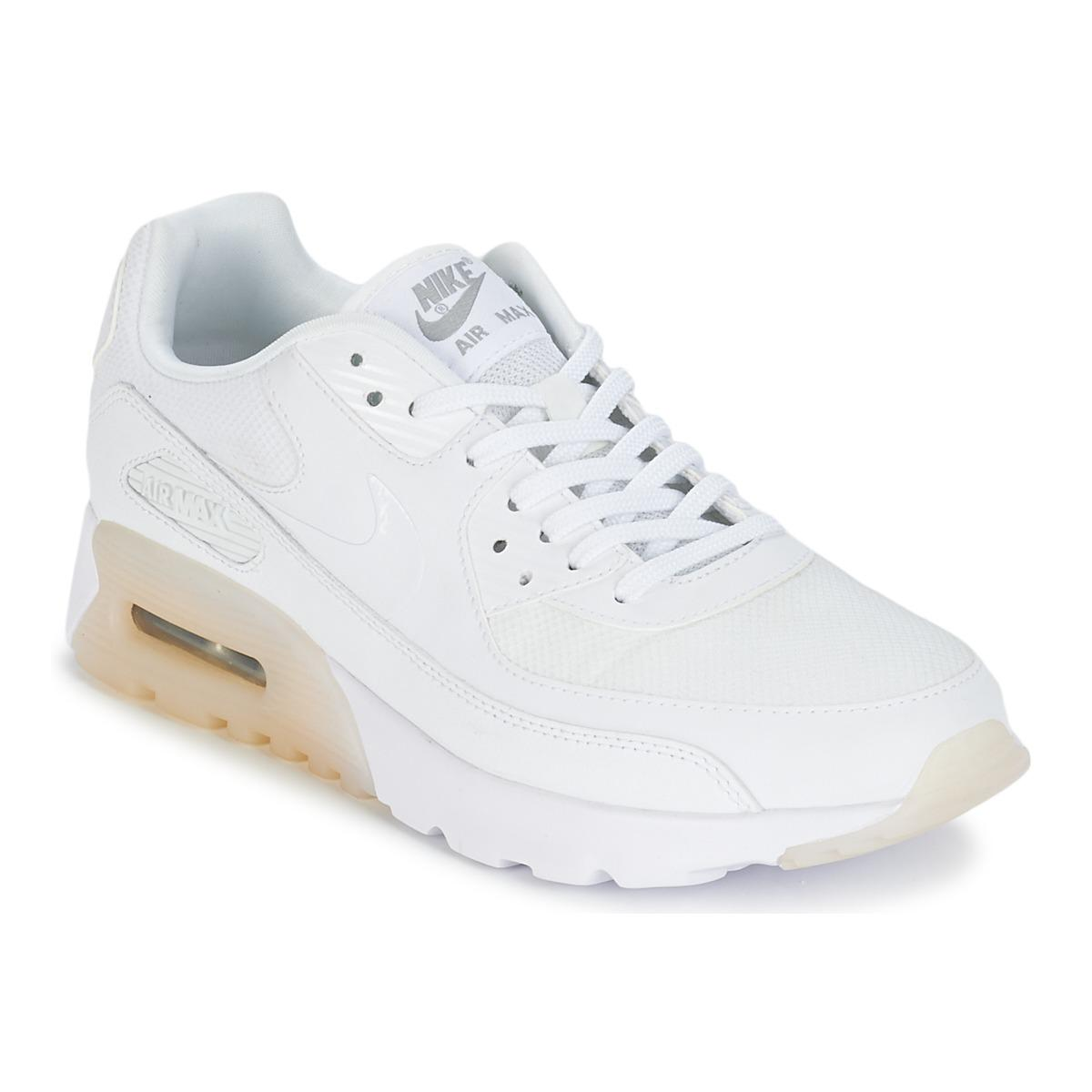 b28d6f85e2f0 Nike Air Max 90 Ultra Essential W Women s Shoes (trainers) In White ...