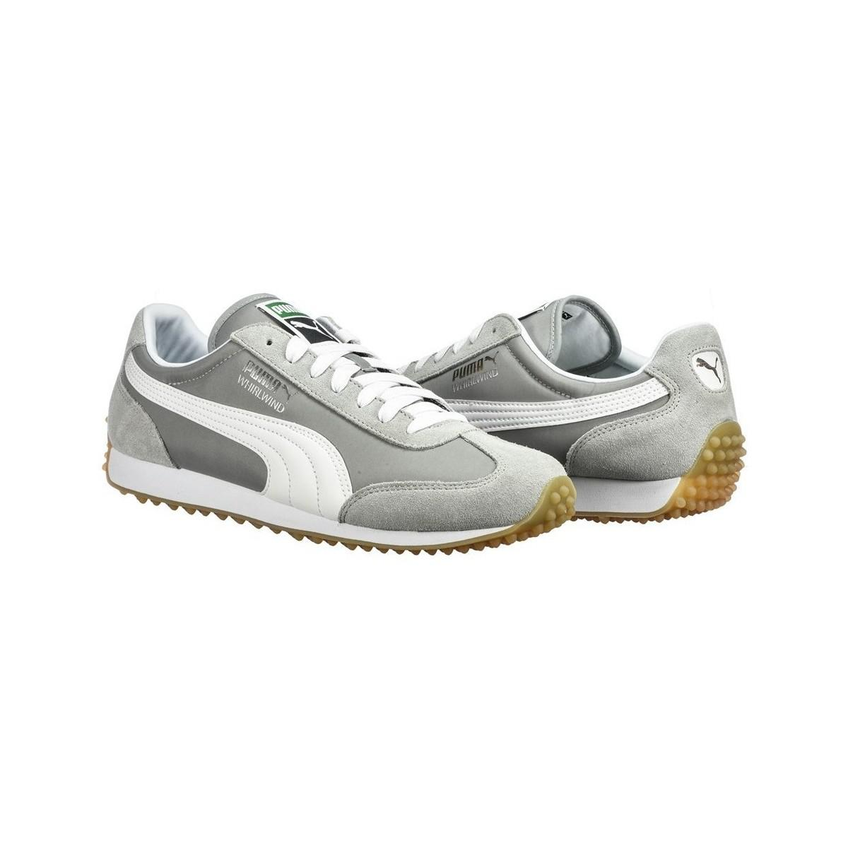 e5e43487d4b243 PUMA - Gray Whirlwind Classic Men s Shoes (trainers) In Grey - Lyst. View  fullscreen