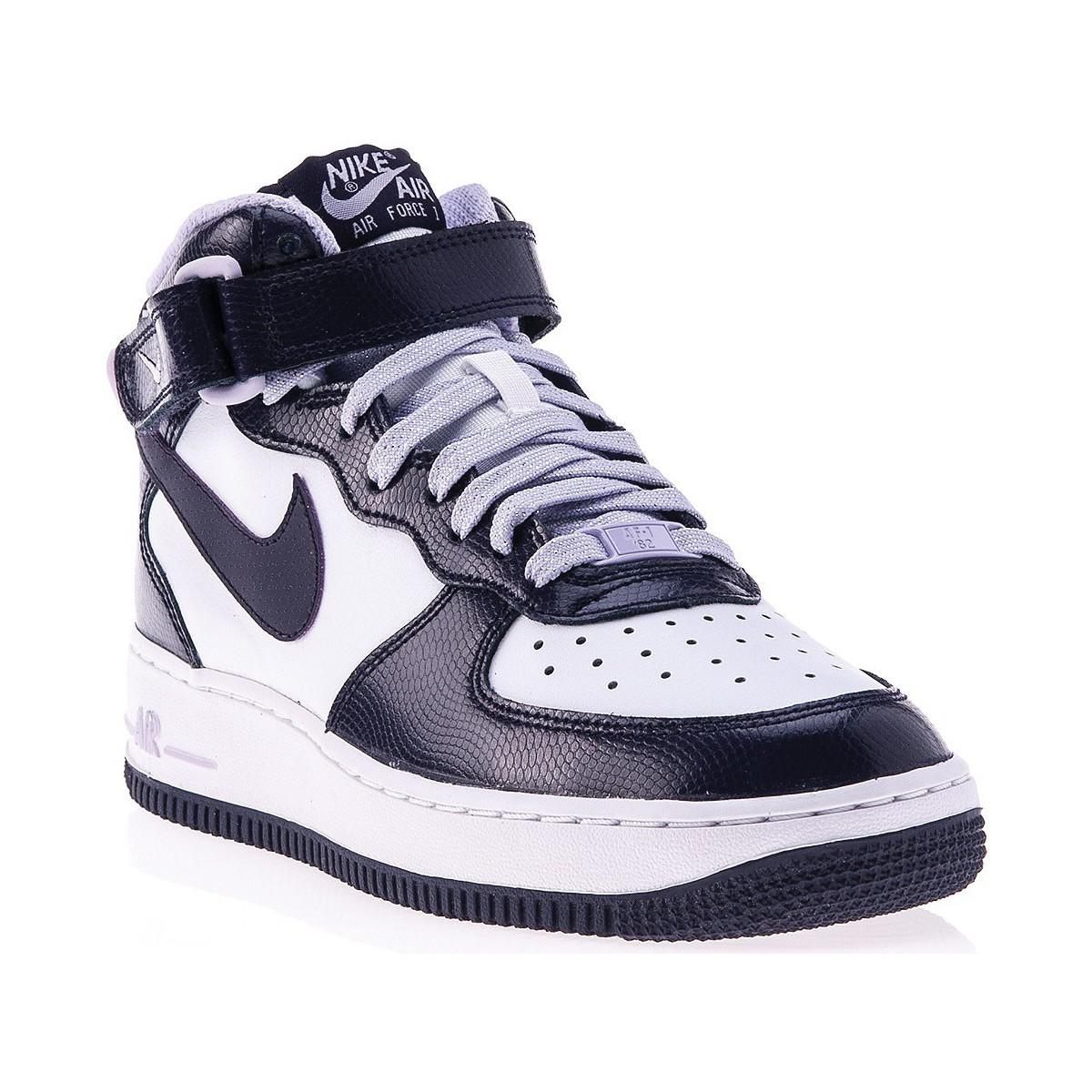 Nike Air Force 1 Mid Gs Women's Shoes (high-top Trainers) In
