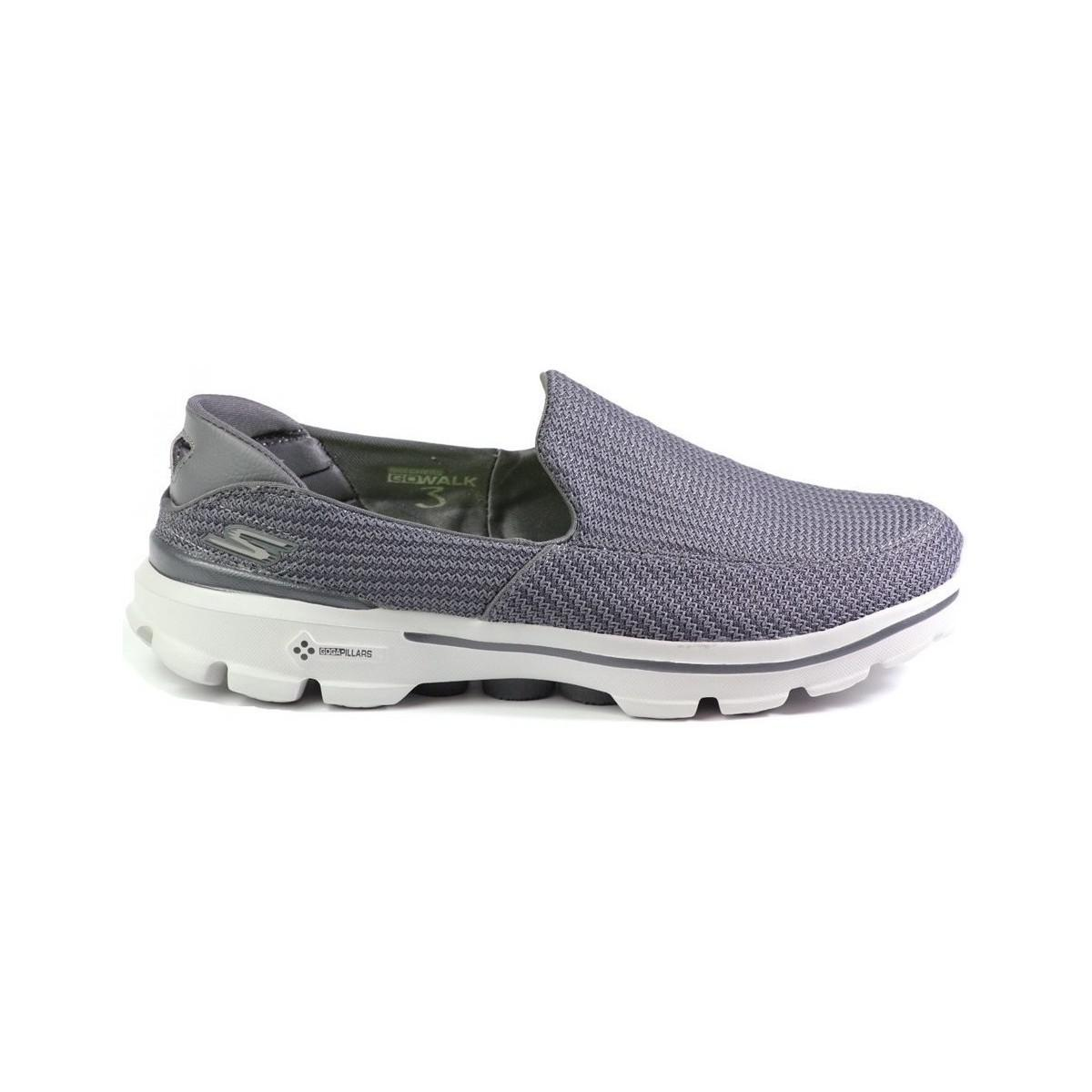 Skechers 53980char Men's Shoes (trainers) In Grey in Grey for Men