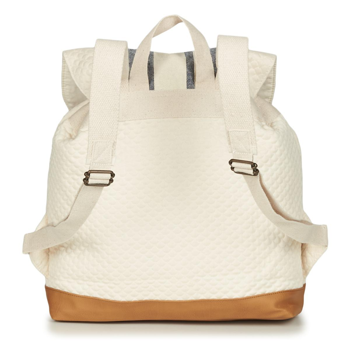 fc1cc46cb8689 Roxy Sunshine In Your Mind Women s Backpack In Beige in Natural for ...